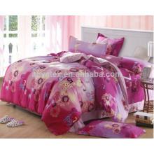 Neu verheiratete 100 Baumwolle rote Farbe Bettbezug Set