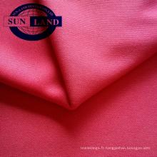 Tissu en tricot polyester interlock 75D72F pour vêtements