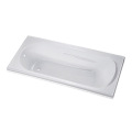 EverClean Apron Soaking Bathtub in White