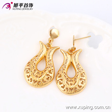 63670 xuping hot sale nigerian wedding jewelry set fashion delicate simple gold plated jewelry sets