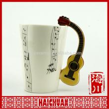 Copa 3d de cerâmica musical