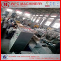 60%Wood(rice husk/straw/wood)+30% recycled plastic(PP/PE/PVC ) composite WPC profile production line/ plastic wood machine