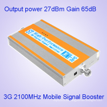 2100MHz Mobile Cell Phone Booster Amplificador 3G + Yagi para uso en el hogar y la oficina