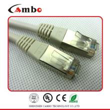 Cable blindé RJ45 24awg rj11 / rj45 câble cordon de câblage au meilleur prix