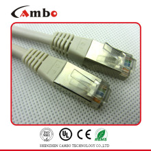 Защищенный кабель RJ45 24awg rj11 / rj45 патч-корд с лучшей ценой