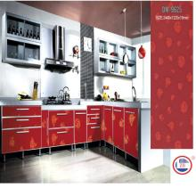 Pattern Kitchen Cabinets Customized Sizes with Colorful Surface (DM-9620)