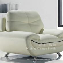 Tejido de lino decorativo 100% poliéster para cubiertas de sillas