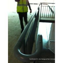 Barandilla de barandilla de acero al aire libre interior barandilla de escalera