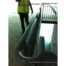 Corrimão de corrimão de balaustrada de aço interno externo