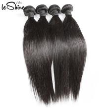 Am besten Wholesale Jungfrau-gerades Haar-Verkäufer-Häutchen richtete brasilianische doppelte nähte menschliche Webart in Mosambik aus