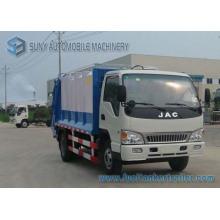 Camión de basura JAC 4 * 2 5cbm Compactor