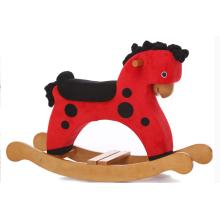 Factroy Supply Rocking Horse-Red avec Black DOT