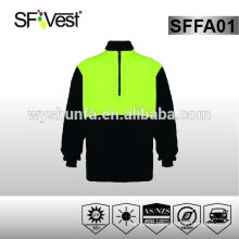 hi vis fleece jacket Australia style safety clothing safety sweatshirt workwear