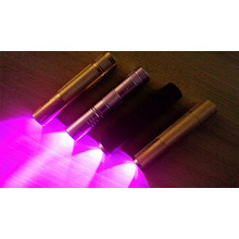 Linterna ULTRAVIOLETA del LED de 395-400nm 3W