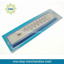 Plastic garden outdoor thermometers