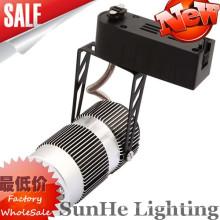 pure Aluminum edge surface led track light & UL SAA assure China factory