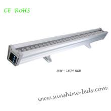 Luz impermeable de la arandela de la pared al aire libre del RGB LED
