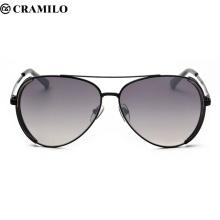 Cramilo Hochwertige Mode Grau Ant Sonnenbrille Männer Frauen Lentes Sonnenbrille Oculos Masculino Glas lunette de soleil F2043
