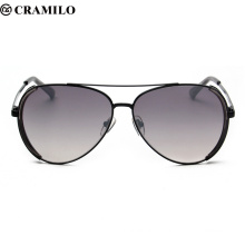Cramilo High Quality Fashion Gray Ant Sunglasses Men Women Lentes Sun Glasses Oculos Masculino Glass lunette de soleil F2043