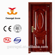 Luxury Decorative Wood Grain 45mm Steel room doors