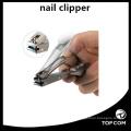 Coupe-ongles avec receveur, chiffon de nettoyage doux très tranchant De luxe en acier inoxydable robuste pour les ongles et les ongles des pieds