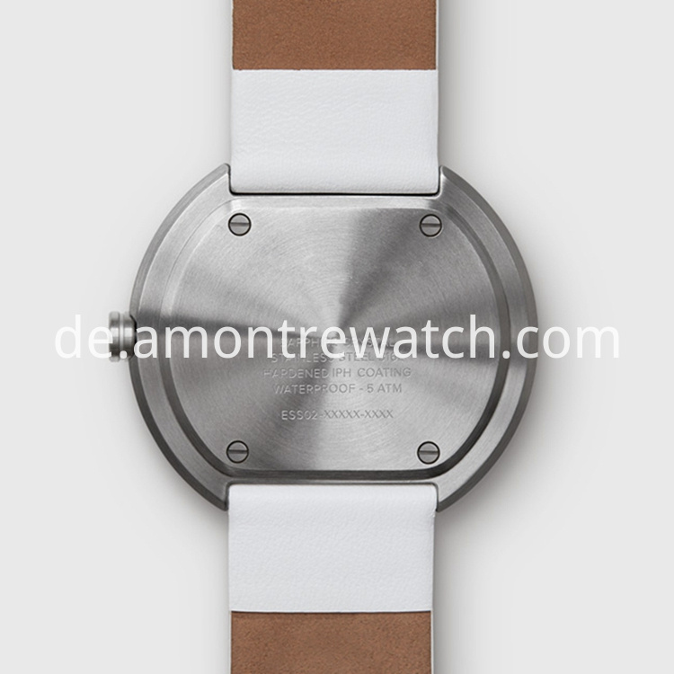 stainless steel case watch