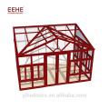 Conservatoire de vente chaude en fibre de verre maison italienne low-E solariums