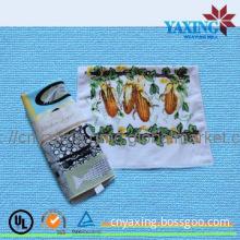 Microfiber custom printed dish towels