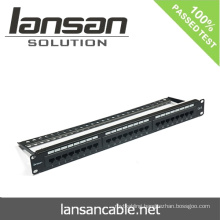 UTP patch panel With 24 Port/48 ports Network Cabling Accessories
