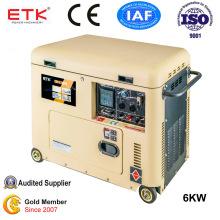 Strong Carton Packing Portable Diesel Generator (6KW)