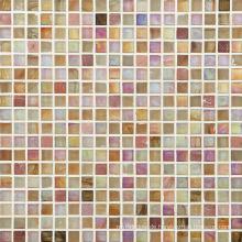 Gold Mosaik Wandfliese, Glas Mosaik, Marmor Mosaik