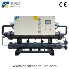 491000kcal/H Water Cooled Screw Type Water Chiller for Plastic Machine