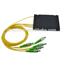 1 *4 ST APC fiber optic splitter ABS module , wholesale box plc splitter welcome order