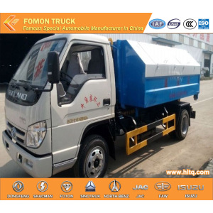 4X2 FOTON FORLAND hook lifting garbage truck