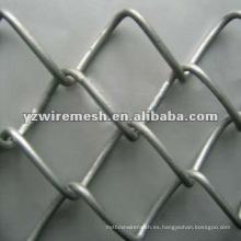 Valla de enlace de cadena recubierta de PVC