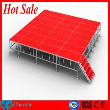 Hot sale red mobile stage for sale