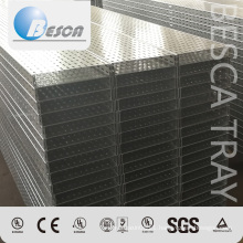 Hot Dip Galvanized Steel Punched Cable Tray With OEM Factory Price