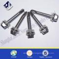 EPDM com zinco Finsished Self Drilling Screw