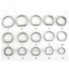 2012 anillos del encierro de la bola del anillo del ombligo del acero inoxidable 316L de la manera