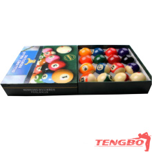 AAA-grade resin pool soccer ball 8 ball billiards games