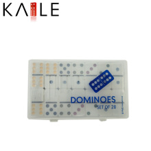 Chinese Products Wholesale Double Six Domino in Plastic Box