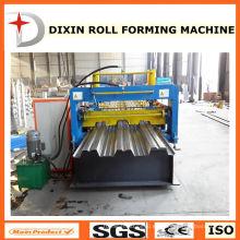 Nuevo tipo de máquina de rodillo de piso de la cubierta formando la máquina