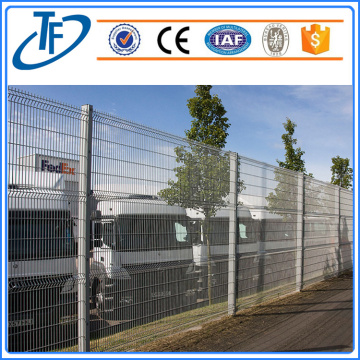 Galvanized 3D panel fence for sale