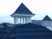 Natural Stone Chip Coated Metal Roof Tiles