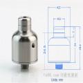 Nipple Rda E-Cigarette Atomizer pour la vapeur avec grande surface (ES-AT-099)