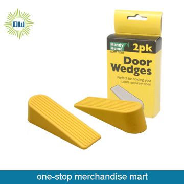 Home door stop block