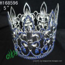.New diseña el círculo entero del Rhinestone corona y la tiara