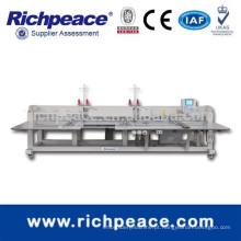 Máquina de costura de estilo de ponte de alta velocidade automática multi-cabeça Richpeace