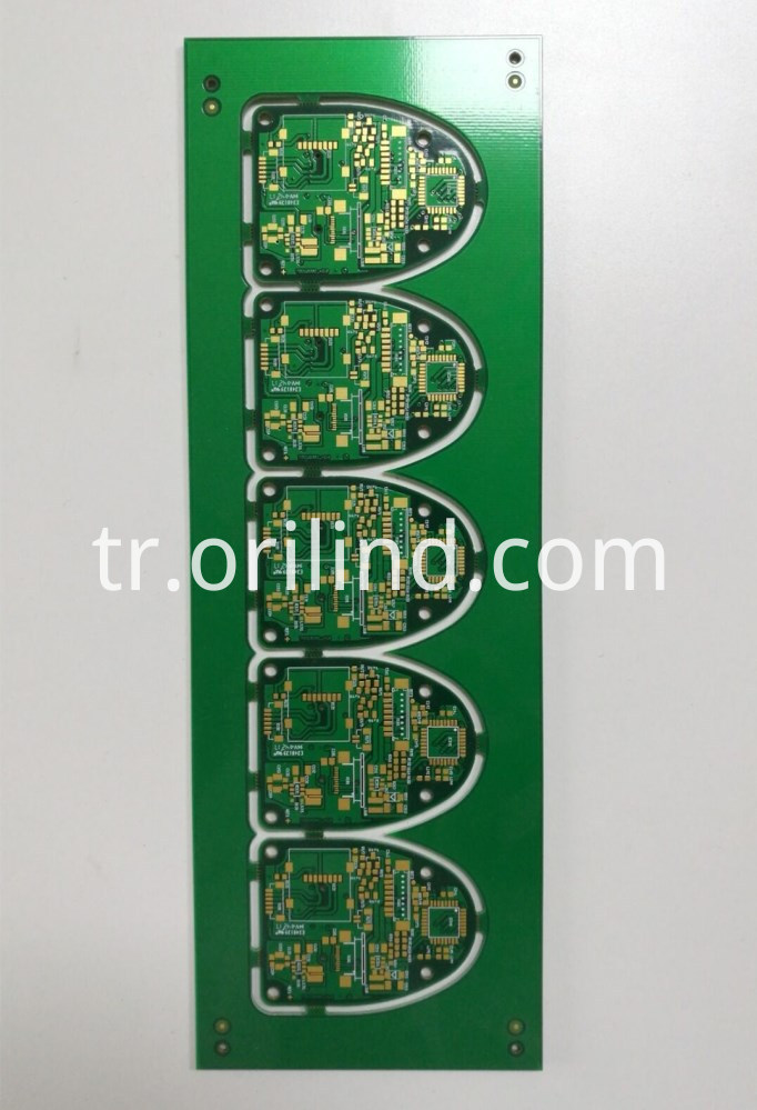 Multilayer rigid circuit board