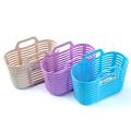Carrinho de compras de plástico multifuncional com alça